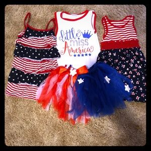 Other - 3T 4th of July outfits